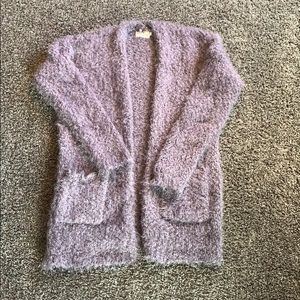 Fluffy super comfy and cuddly cardigan